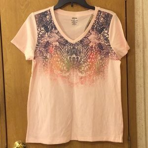 NWT graphic top